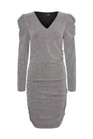 Emmy Ls V-Neck Dress