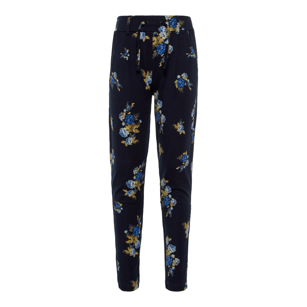 Trousers floral printed