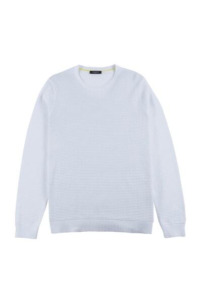 Klein Calvin Vesten Sawart Truienamp; White Sweater tsdxrChQ