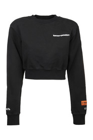 SWEATSHIRT CROPPED HP WARPED