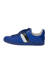Pre-owned Leather Frontrow Lace Up Sneakers