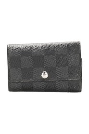 Damier Graphite 6 Key Holder Canvas