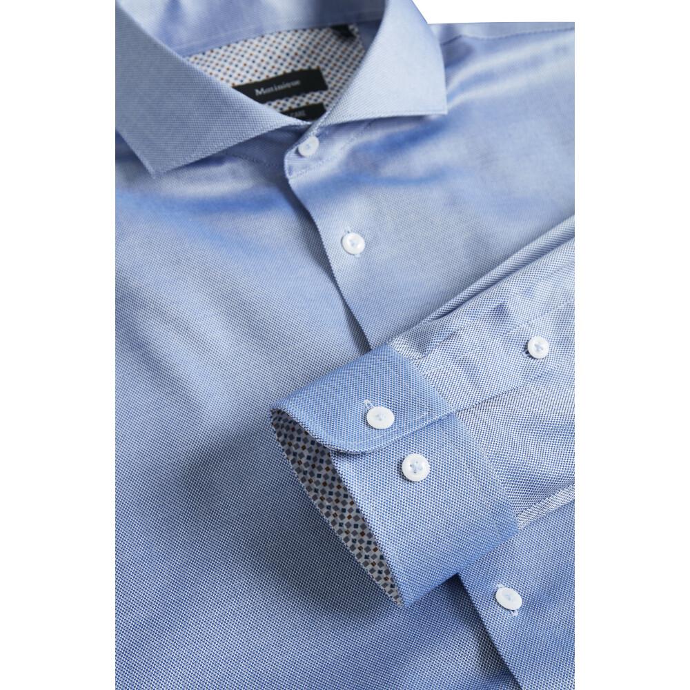 Ink Blue Trostol BC3 Basic Structure shirt | Matinique | Zakelijke Overhemden | Herenkleding