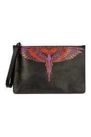 Briefcase document holder wallet wings