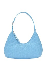 Baby Amber Bag Croco Embossed Leather