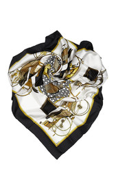 Les Voitures a Transformation Silk Scarf