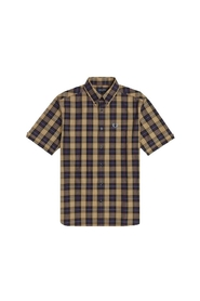 Authentic Button Down Short Sleeve Check Shirt