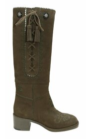 Brukt Pre-Fall 2015 Boots Suede