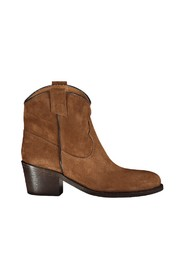 Texan ankle boot in leather suede