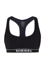 Branded sports bra