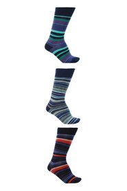 Patterned socks 3-pack