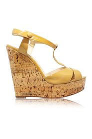 Marina Liege Cork Wedges