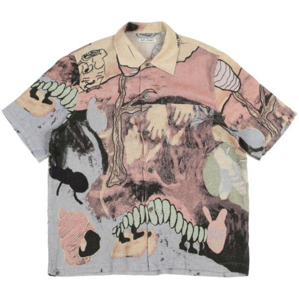 Box Shirt Acid Landscape