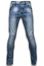 Stone Washed Skinny Fit
