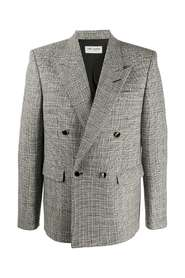 4-button prince of wales jacket