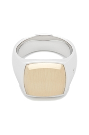 Jewellery The Cushion Goldtop Ring