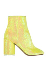 Sequins and Suede Boots