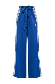 Tie-up track pants