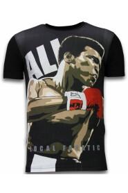 Muhammad Ali - Digital Rhinestone T-shirt