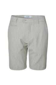 Como Light Pinstripe Shorts