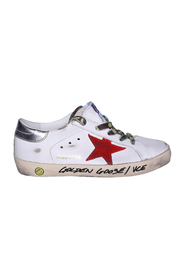 Super Star classic leather sneakers with laces