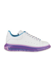 Oversized sneakers with transparent soles