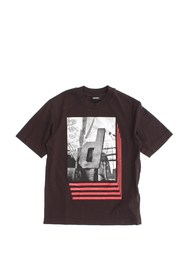 DIESEL TENTIL 00J3Z6 0091B T SHIRT AND TANK Boy BLACK