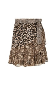 Cheetah Mix Skirt