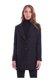 COAT IN BOUCLE 'FABRIC WITH LUREX