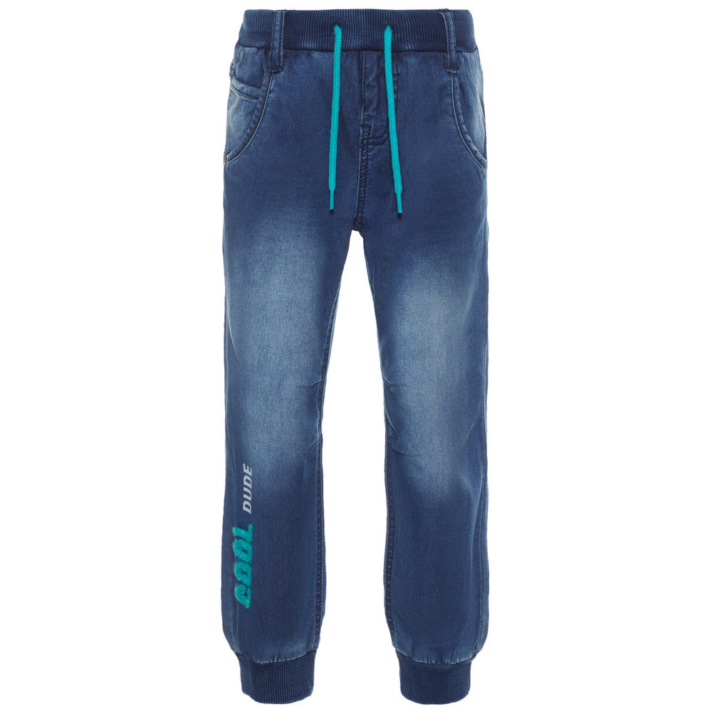 Jeans baggy super stretch pull-on