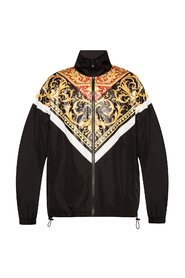 Barocco-printed rainjacket