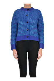 Wooven knit cardigan