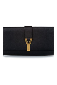 Cabas Chyc Leather Clutch Bag