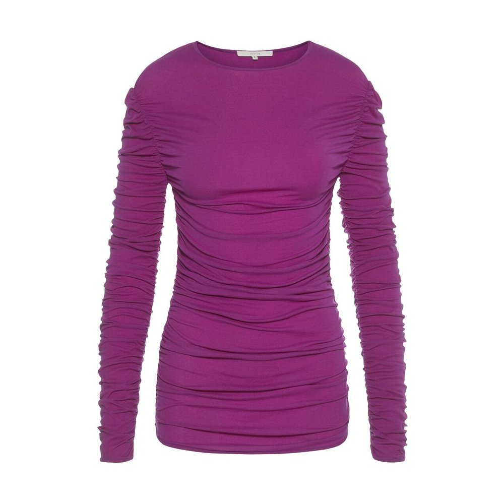 Long Sleeved Top Shirred