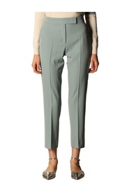Fastoso high-rise tapered trousers