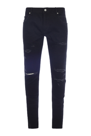 6 PKT SLIM JEANS-DISTRESSED