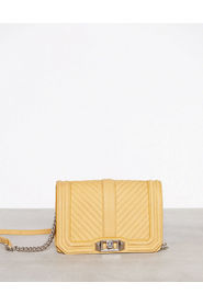 Small love crossbody handbag caprice yellow - Rebecca Minkoff
