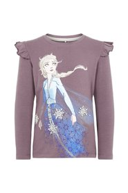 Long-Sleeved T-shirt disney frozen print
