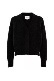 Brook Knit Boxy Cardigan Sweater