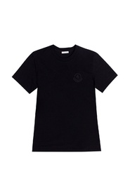 Logo-patched T-shirt