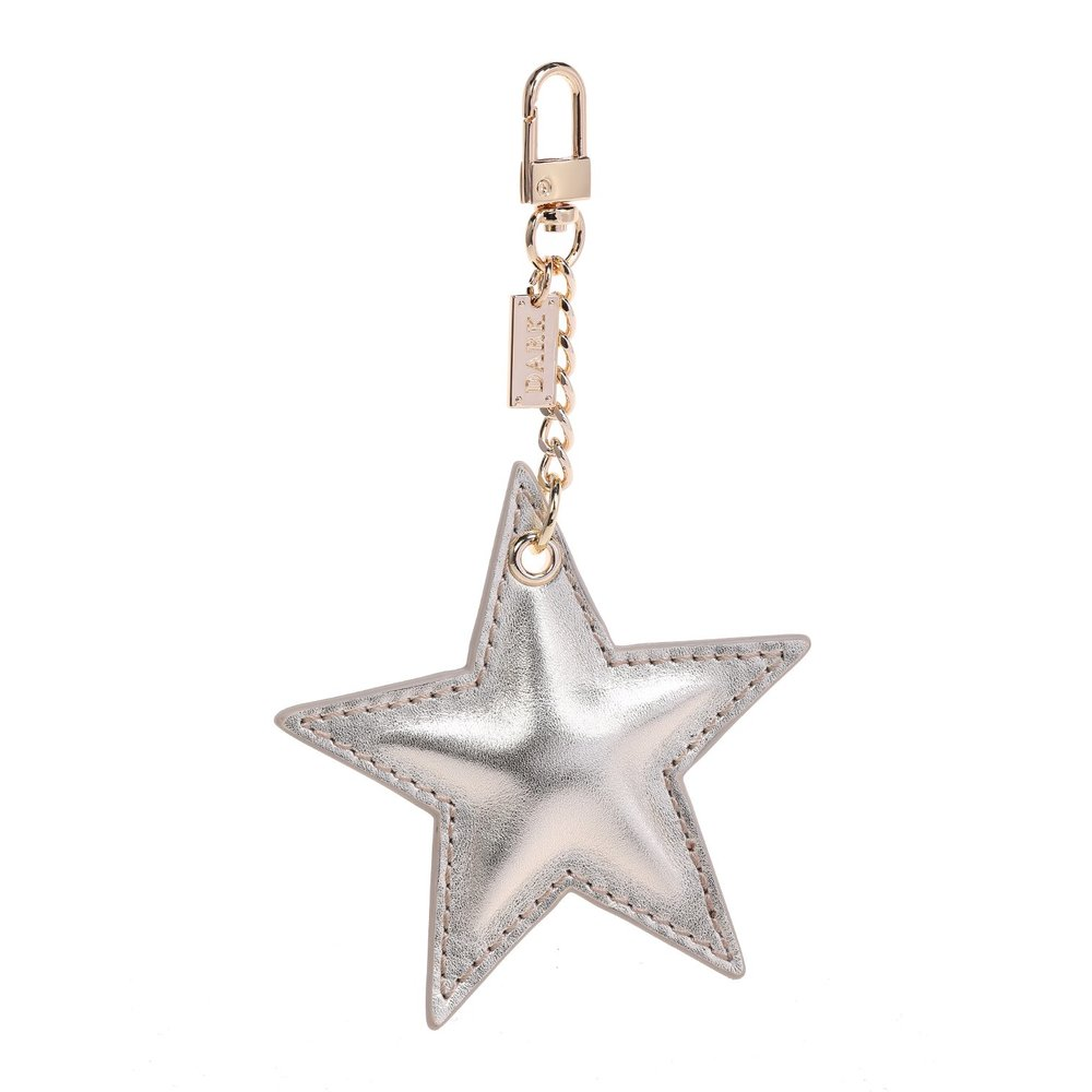 SIGN CHARM STAR GOLD W/GOLD