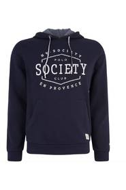 Hooded Sweater logo Navy (0401103132 - 5001)