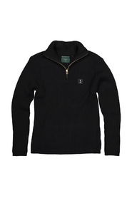 Knitwear HALF ZIP OFF BLACK