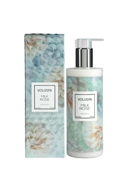 Blå Voluspa Milk Rose Hand & Body Moisture Milk 300Ml Kroppspleie