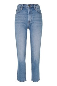 Carol Cropped Straight Jeans