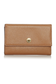 Pre-owned Leather Wallet