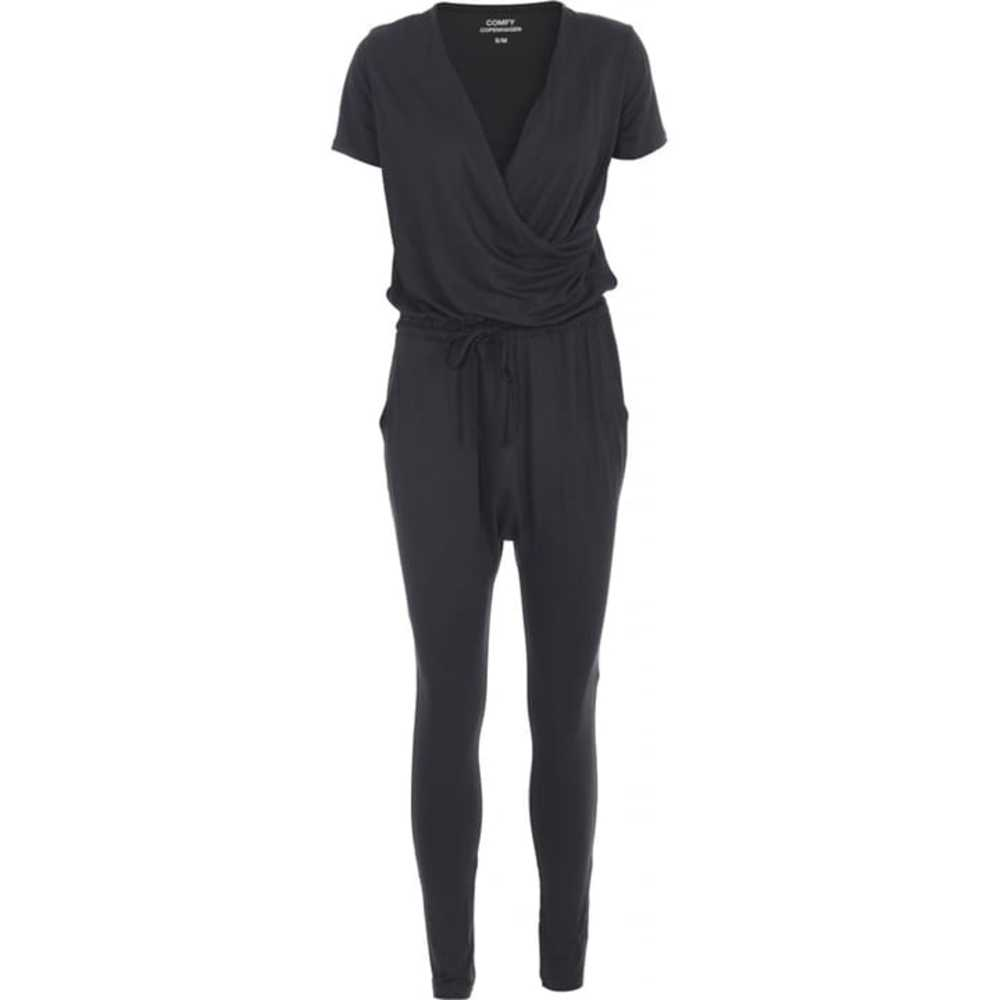jumpsuit heat of the night dark grey