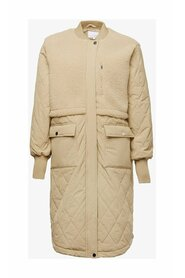 Etta Pile Coat Solid