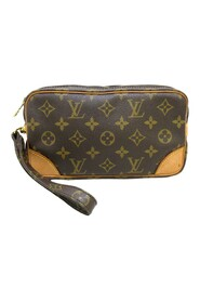 Pre-owned Monogram Marly Dragonne PM Canvas