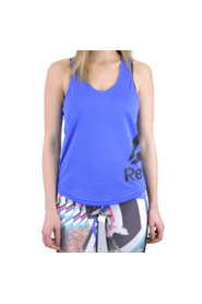 TANK WOMAN WORKOUT MESH TANK GRAPHIC CE4428